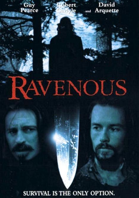 Ravenous movie poster