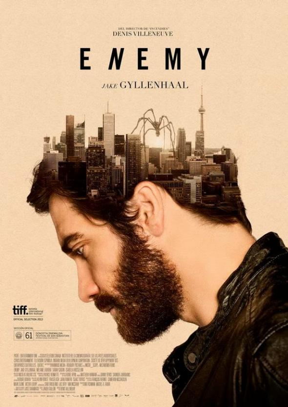Enemy movie poster spider