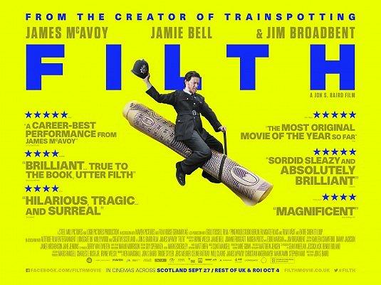Filth movie poster