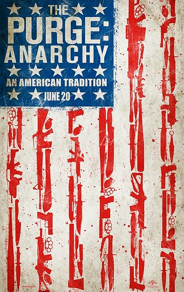 Purge Anarchy movie poster