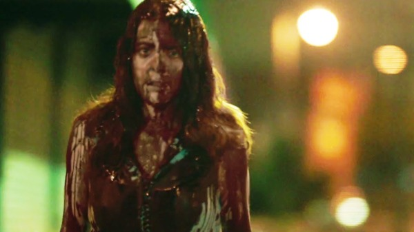the purge anarchy girl covered in blood