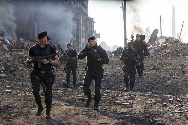 Expendable 3 large guns
