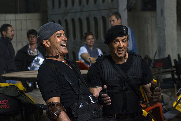 Expendables 3 Banderas