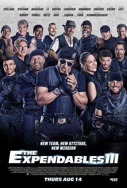 expendables 3 movie poster