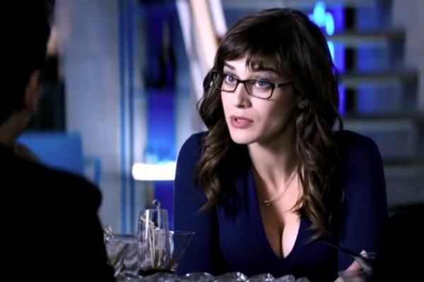 Lizzy caplan the interview glasses