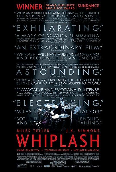 whiplash movie poster
