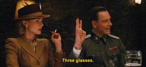 Inglorious three