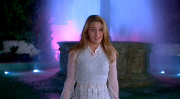 clueless fountain scene - cher