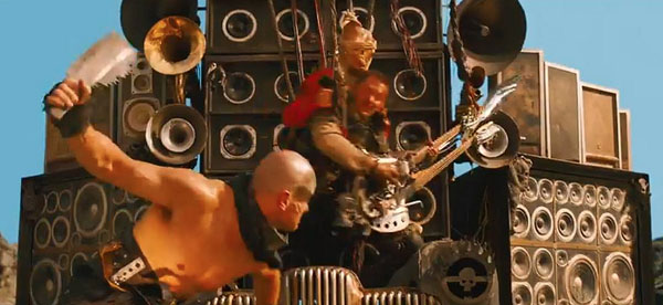 Mad Max fury road guitar