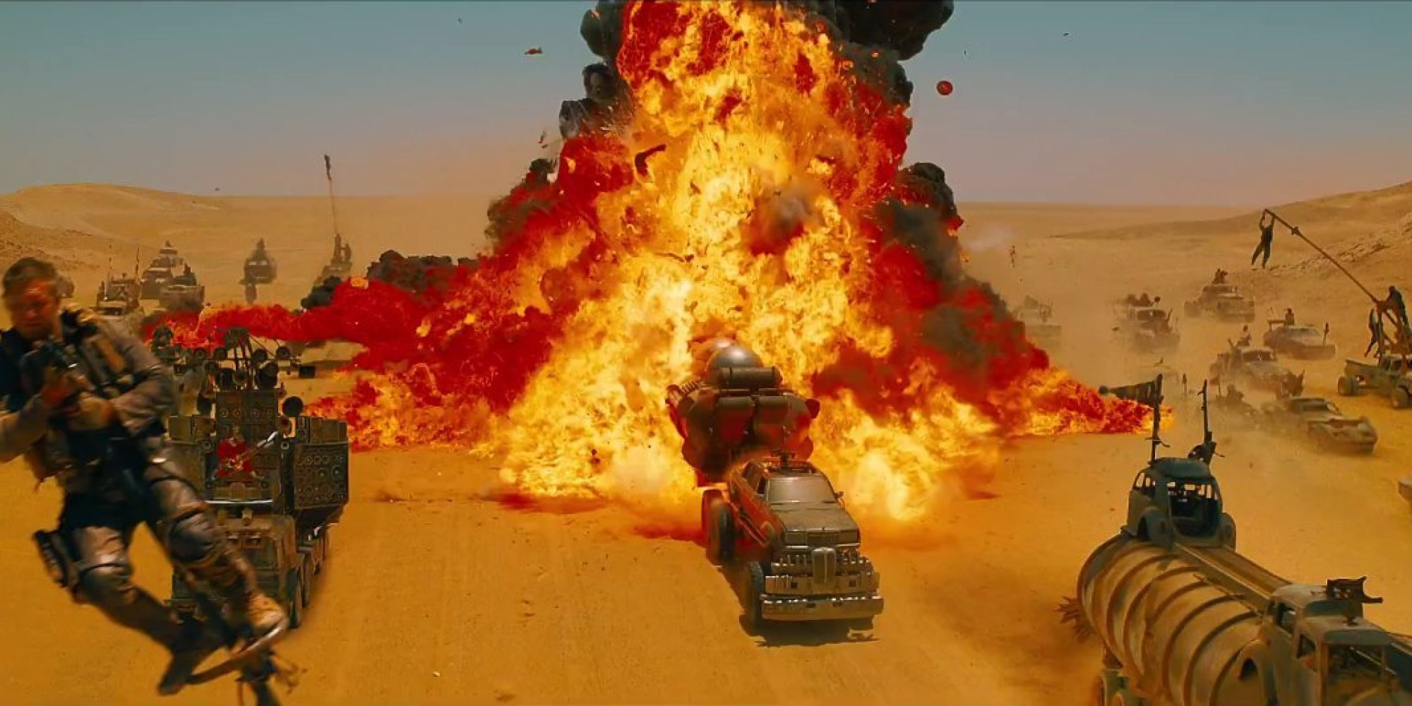 Mad Max Fury Road 2015 Mechanical Arms Valhallan Cults