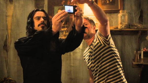 What we do in the shadows selfie
