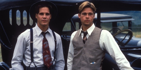 A River Runs Through It starring Craig Sheffer and Brad Pitt.