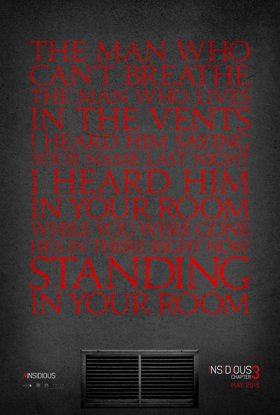 Insidious 3 movie poster