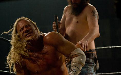 The Wrestler staples.