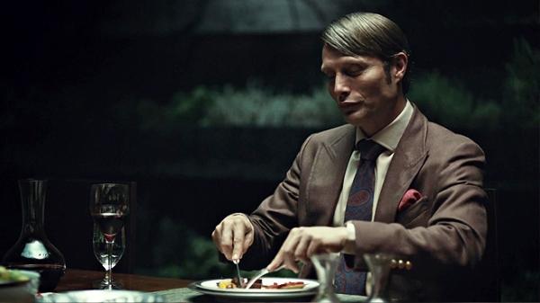 Hannibal Dinner table Mads Mikkelsen