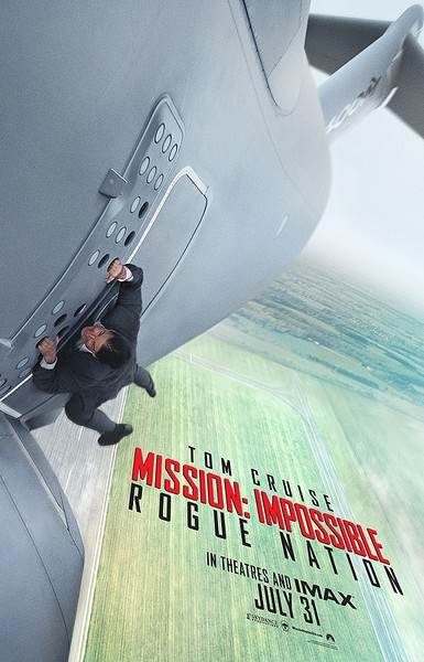 Mission Impossible Rogue Nation movie poster