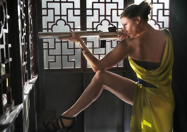 Mission Impossible Rogue Nation Rebecca Ferguson yellow dress