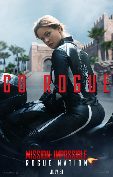 Mission Impossible Rogue Nation Rebecca Ferguson