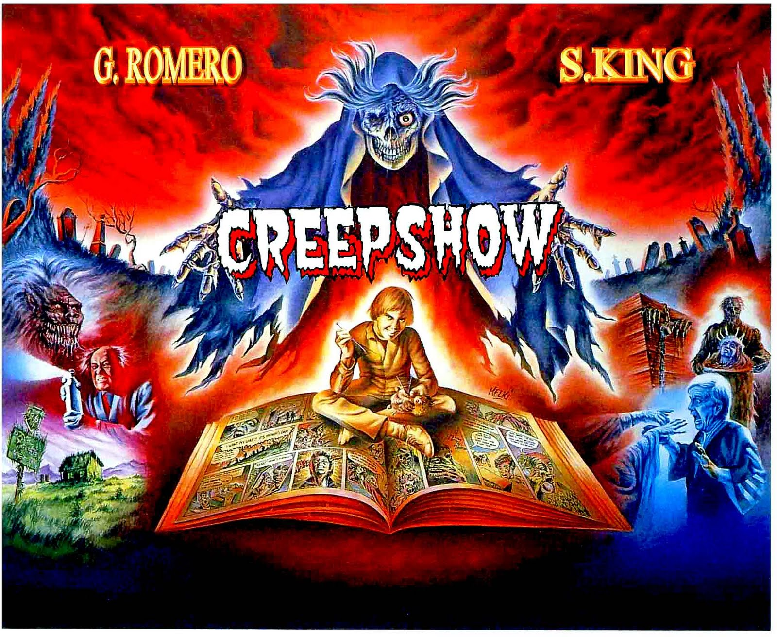 Stephen King's Creepshow Paperback Comic 1982 w/ Barcode George Romero
