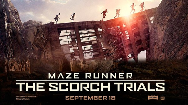 Scorch Trials movie poster