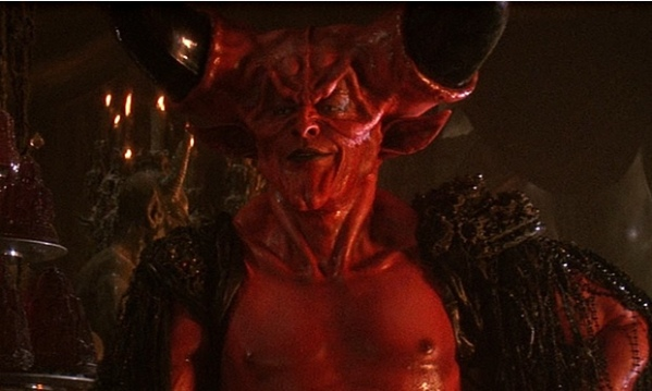 Tim Curry as the Lord of Darkness in Legend