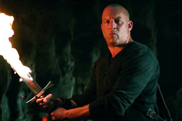 Vin Diesel sword the last witch hunter