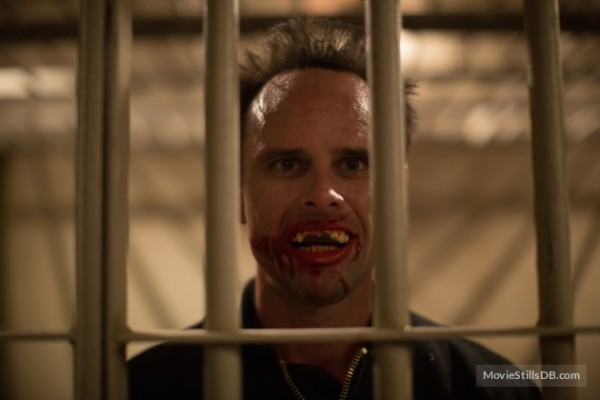 Walton Goggins American Ultra laugher