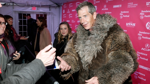 "PARK CITY, UT - JANUARY 24: Actor Ben Mendelsohn attends the ""Slow West"" Premiere during the 2015 Sundance Film Festival at The Marc Theatre on January 24, 2015 in Park City, Utah. (Photo by Chad Hurst/Getty Images for Sundance)"