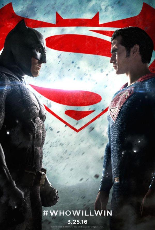 Batman v Superman movie poster