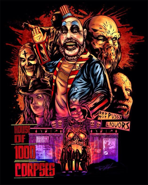 house of a thousand corpses movie online