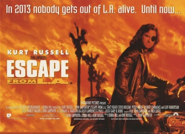 Escape From L.A. movie poster