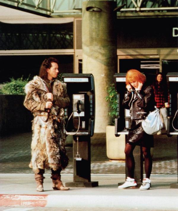 WARLOCK, from left: Richard E. Grant, Lori Singer, 1989, © Trimark