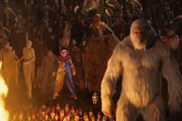 Goosebumps movie monsters