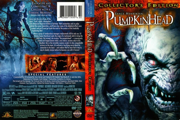Pumpkinhead 1988 DVD cover Collectors Edition cinemapassion_com -