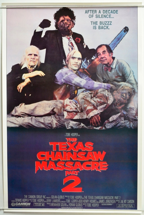 Texas Chainsaw Massacre Part 2 : Cinema 1-Sheet Poster