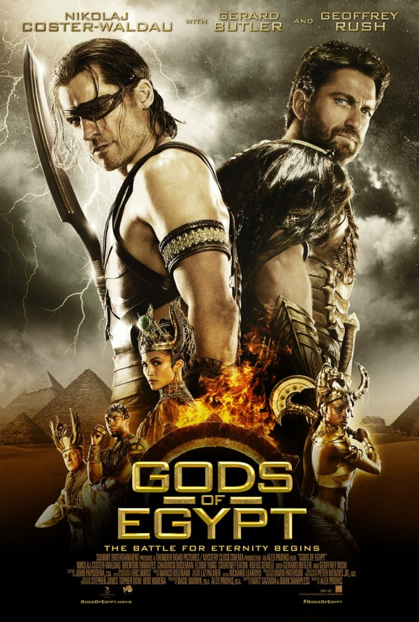 God of Egypt Movie Poster