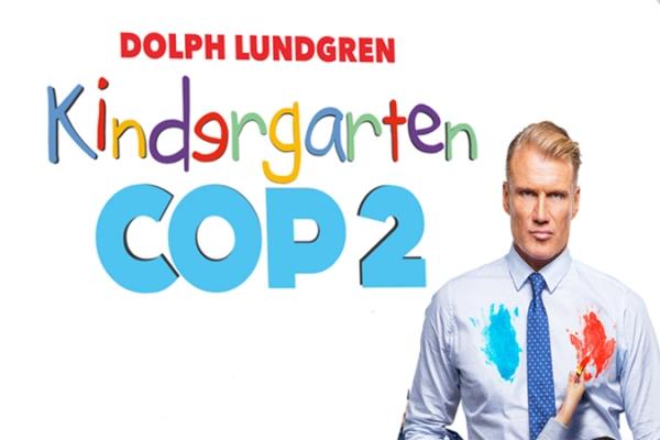 Kindergarten Cop 2 movie poster