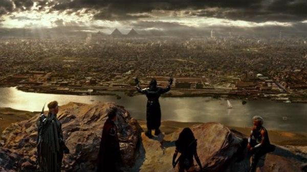 X-Men Apocalypse four horsemen