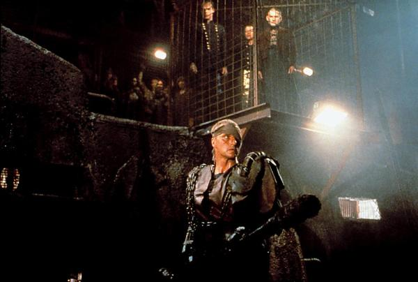 BLOOD OF HEROES (aka SALUTE OF THE JUGGER), Rutger Hauer, 1988