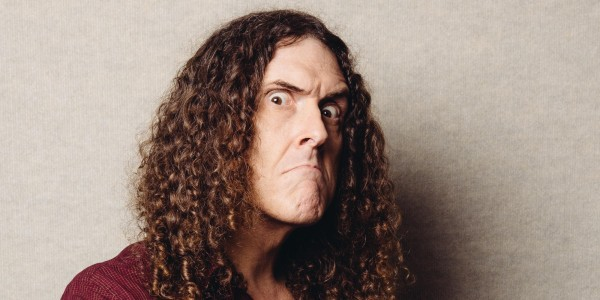 Weird Al Yankovic poses for a portrait during an interview on Thursday, July 17, 2014, in Los Angeles. (Photo by Casey Curry/Invision/AP)