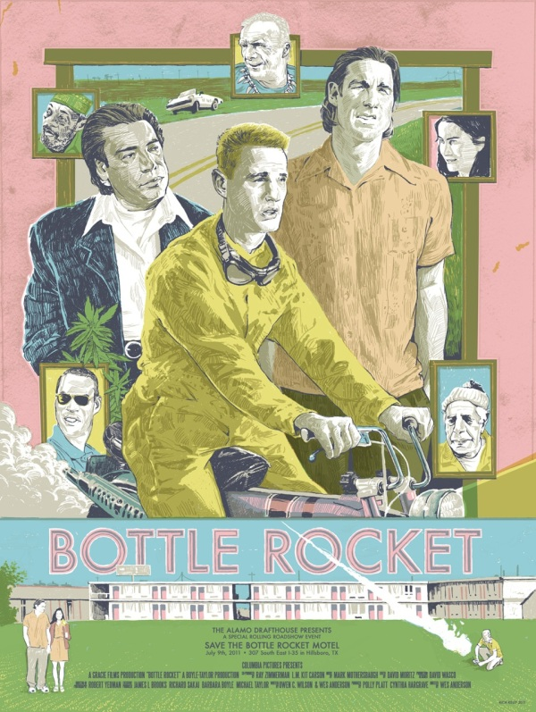 Bottle Rocket movie po...