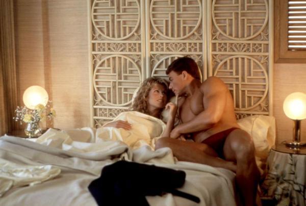 BLOODSPORT, Leah Ayres, Jean-Claude Van Damme, 1988. ©Cannon Films