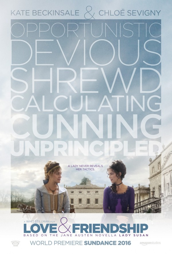 Love and Friendship movie poster