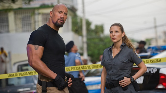 Fast Five (2011), introducing The Rock's sweaty muscles and