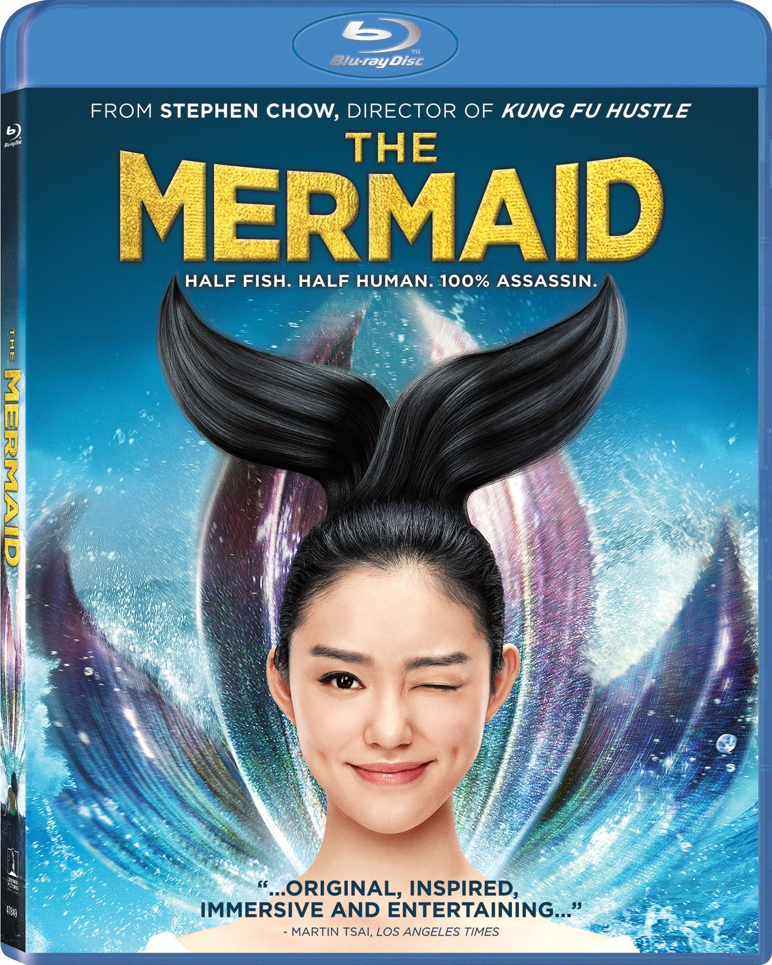The Mermaid 2016 A Mermaid Assassin S Bonkerstastic Chinese Action Fantasy Love Story Movies Films Flix