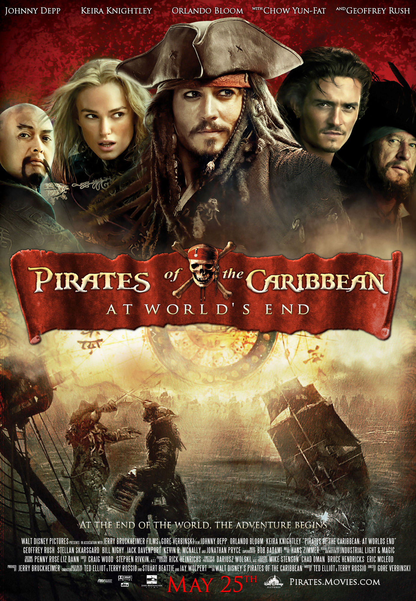 World S Most Beautiful: Pirates Of The Caribbean: At World's End (2007), Revealing