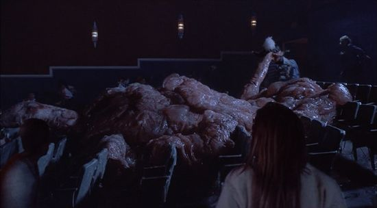 Flix Movie Theater >> John's Horror Corner: The Blob (1988), this slimy, gory sci-horror about an acidic alien ooze is ...