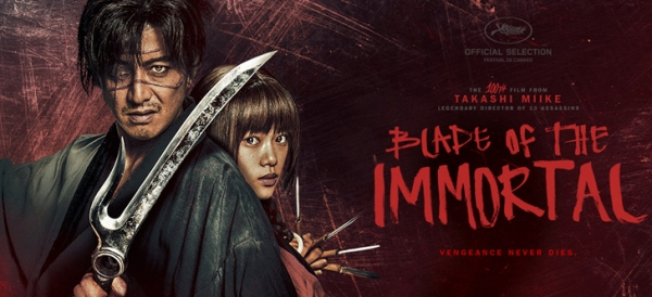 Blade of the Immortal: A Very Fun Film That Features Blood, Battles