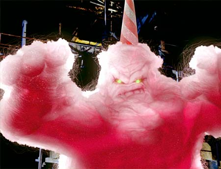 Mff Favorite Monsters The Cotton Candy Glob And Its Demise In Scooby Doo 2 Monsters Unleashed Movies Films Flix
