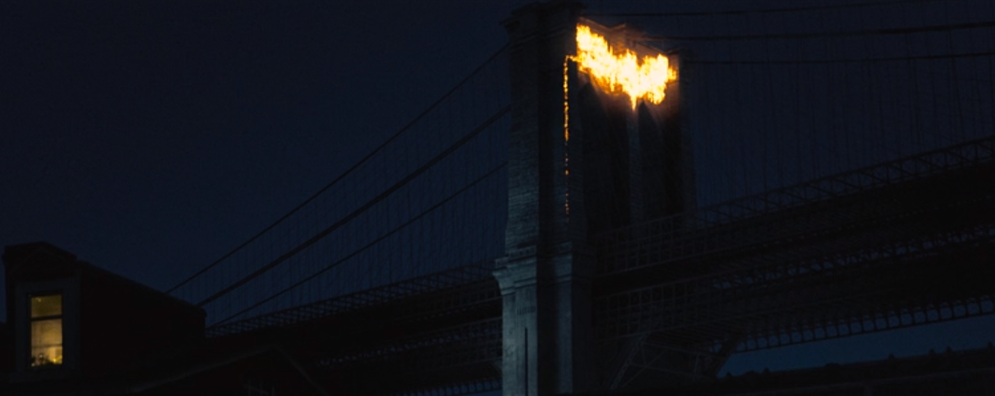 The Dark Knight Rises Bat Symbol